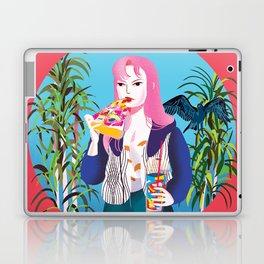 Pizza Girl Laptop & iPad Skin
