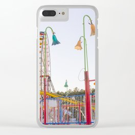 Ferris Wheel 3 Clear iPhone Case