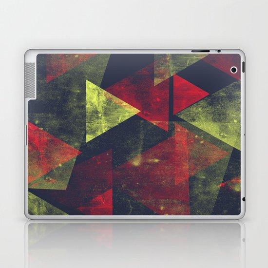 weathered triangles Laptop & iPad Skin