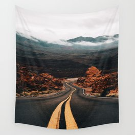 Road to Valley of Fire Wall Tapestry