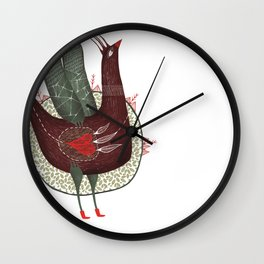 I have so much of sky in my heart Wall Clock