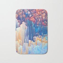 Glitches in the Clouds Bath Mat