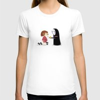 chihiro T-shirts featuring Chihiro & NoFace by solostudio