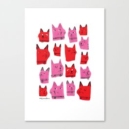 Love Cats! Canvas Print