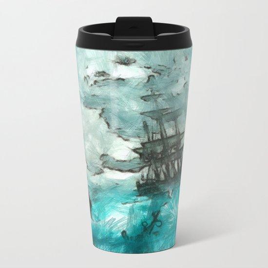ship 2 Metal Travel Mug