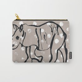Dotty Rhino Carry-All Pouch