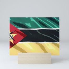 Saint Lucia Flag Molded Superheated Plastic Book Weapon Mini Art Print