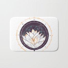 Lotus Bath Mat