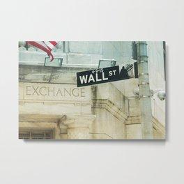 wall Metal Print