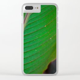 Green is My Favorite Color Clear iPhone Case