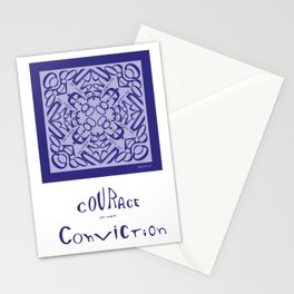 Courage of her Conviction - Violet Lavender Stationery Cards