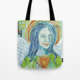 Fierce Heart (Love and Light) Tote Bag