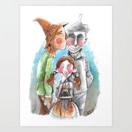 Friends of Dorothy Art Print