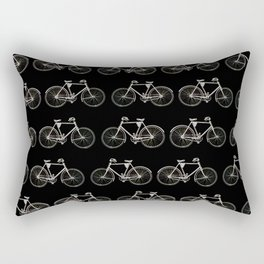 Vintage Bicycle Pattern Rectangular Pillow