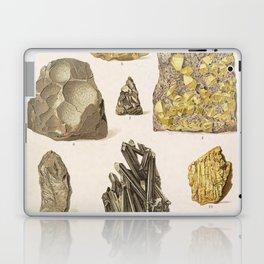 Vintage Gold Minerals Laptop & iPad Skin