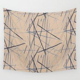 criss cross Wall Tapestry