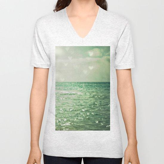 Sea of Happiness Unisex V-Neck