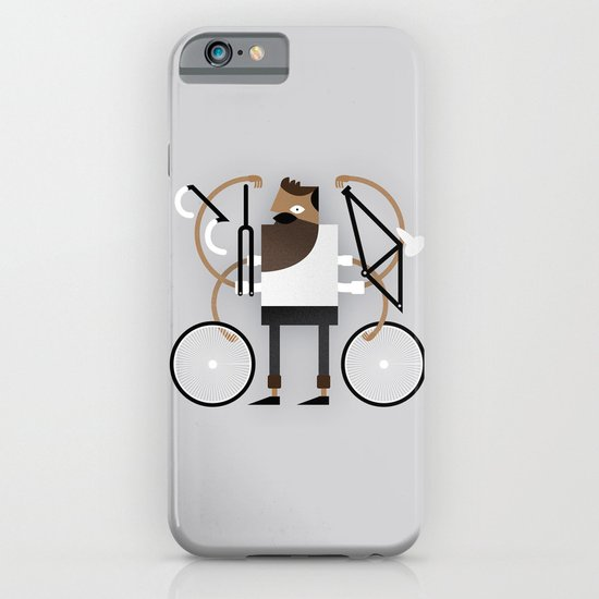 Back to Fixie Business iPhone & iPod Case