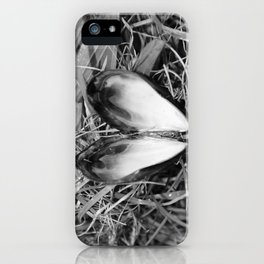 Loveheart Mussels iPhone Case