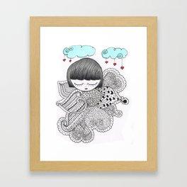 Z-TANGO GIRL Framed Art Print
