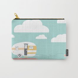 Lets See Really Cool Stuff Together Airstream Art Carry-All Pouch