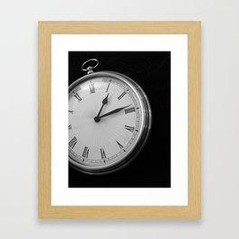 Fifteen Seconds Framed Art Print