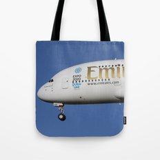 Emirates A380 Airbus Tote Bag