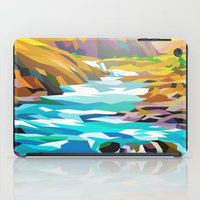 river iPad Cases featuring River by Liam Brazier