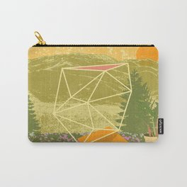 GEOMETRIC FIELD Carry-All Pouch