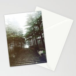 I will follow you into the dark. Stationery Cards