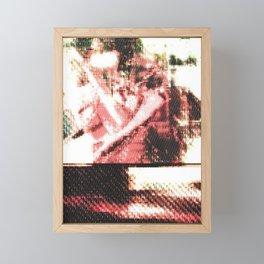 Le Procope - Glitch 02 Framed Mini Art Print