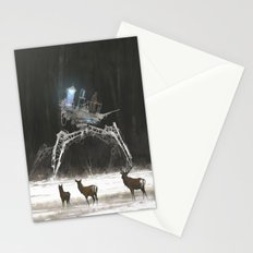 1920 - stranger in the wood Stationery Cards