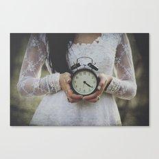 Ticking Canvas Print