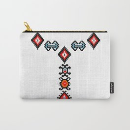 flowers in the snow Carry-All Pouch
