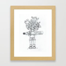 Crazy Beautiful Framed Art Print