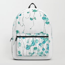 string of hearts watercolor Backpack