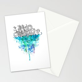 From the Deep, Deep Down. Stationery Cards
