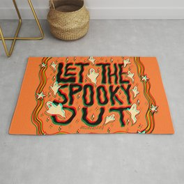 Let the Spooky Out in 3D Rug