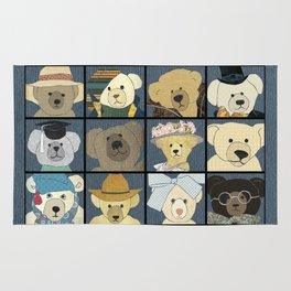 Teddy Bears Rug