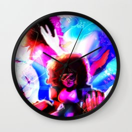 Love Amalgamate Wall Clock
