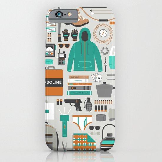 Zombie Survival Kit iPhone & iPod Case