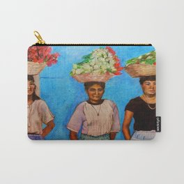 Selling Flowers Carry-All Pouch