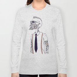 The Gentleman becomes a Hipster  Long Sleeve T-shirt