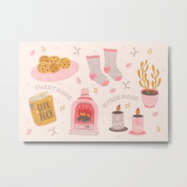 Hygge Mood  Metal Print