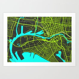 2nd Biggest Cities Are Cities Too - Melbourne Art Print