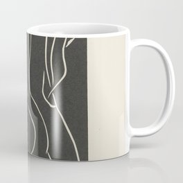...She Places Her Cheek There... She Embraces It... by Henri Matisse Coffee Mug