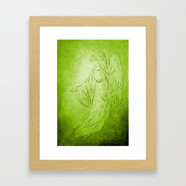 Angel of Healing - Abstract Angel Picture Framed Art Print