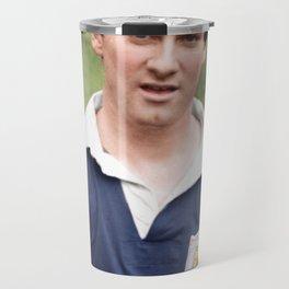 Jim Baxter Scotland Travel Mug