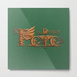 Pete, the Dragon Metal Print
