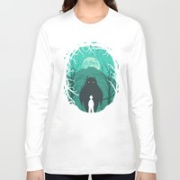 scary Long Sleeve T-shirts featuring Scary Monsters and Nice Sprites by filiskun